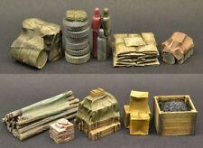 DioDump DD146-C Cargo supplies VALUE PACK - 1:35 - 10 resin diorama accessories