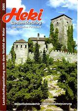 Katalog Heki 2005 décor - échelles Ho - N - TT - Z