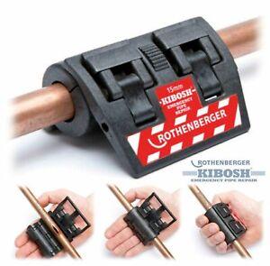 Rothenberger 15mm KIBOSH Professional Emergency Water Pipe Repair Clamp 8.0007