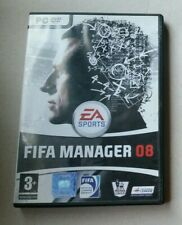 PC game with manual EA Sports FIFA Manager 08
