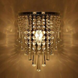 Modern Kristall Wandleuchte Wandlampe Flurlampen Kronleuchter Innenleuchte Home