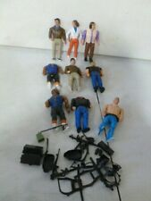 9 1980's The A-Team Action Figures with Accessories and Weapons