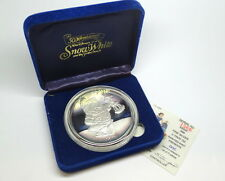 "DISNEY Snow White 50th Anniversary ""DOC"" Collectable .999 Fine 5 oz Silver Medal"