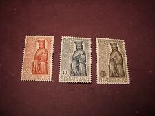 Liechtenstein Stamp Scott# 284-286 Madonna in Wood  1954  MNH  C297
