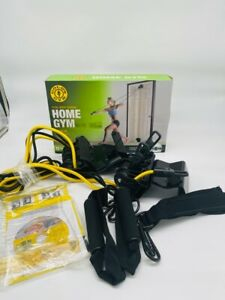 GOLDS GYM Door Mount Total-Body Training Home Gym Workout with DVD/ Poster NEW