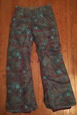 DC Shoes Kids Youth Girl Ace Snowboard Ski Pants sz XL Adjustable waist & inseam