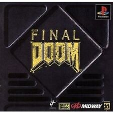 USED PS1 PS PlayStation 1 Final Doom 00054 JAPAN IMPORT
