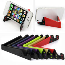 Portable V-shaped Foldable Desktop Holder Stand for Mobile Phone Tablet PC iPad