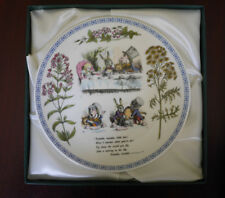 Minton Alice's Adventures in Wonderland Plate The Mad Hatter's Tea Party Plate