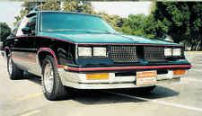 1978-87 HURST OLDS/442/CUTLASS FIBERGLASS FRONT SPOILER W/HDWR