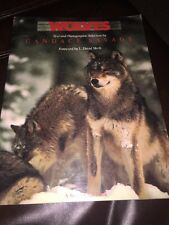 """""""WOLVES"""" by Candace Savage, intro by L David Mech. 1988. Sierra Club Books."""