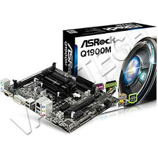 SCHEDA MADRE ASROCK Q1900M INTEL QUAD-CORE CPU INTEGRATO J1900 2.0 GHz 2 X DDR3