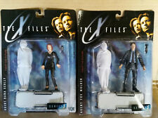 McFarlane X-Files Agent Dana Scully and Fox Mulder with gurney Series 1 lot of 2