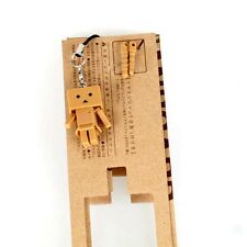 2015 Revoltech Danboard 3cm Mini Version Danbo Amazon Phone Strap Free Orange