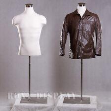Male Mannequin Manequin Manikin Dress Form #33DD01+BS-05