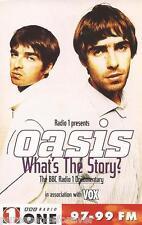 OASIS... WHAT'S THE STORY?: RADIO 1 DOCUMENTARY (Audio Cassette) (Vox Magazine)