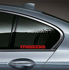 2 - MAZDA 3 5 RX7 RX8 Mazdaspeed Racing Decal sticker emblem logo RED