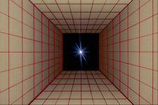 520003 Plaza túnel cuadrícula con Star A4 Foto Textura impresión