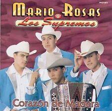 Corazon de Madera by Mario Rosas Y Los Supremos (CD, 2001, Fonovisa)