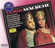 Verdi: Macbeth / Abbado, Verrett, Cappuccilli, Domingo - box 2 CD