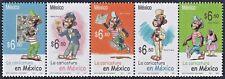 mae50 Mexico 2005 Sc#2450 Mc#3137-41 se-tenant Memin Pinguin controversial stamp