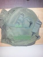 US ARMY CARRIER ASSEMBLY-for gas mask-USGI-VERY GOOD CONDITION- CARRIER
