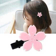 Girls Lolita Sakura Flower Daisy Hair Clip Bellis Hairpin Baby Girl Decor Gift