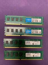 Crucial CT51264BA160BJ (16 GB, PC3-12800 (DDR3-1600), DDR3 RAM, 1600 MHz,...