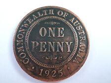 1925 Australian Penny