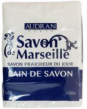 Audran Lot de 4 Savon de Marseille Audran (4x200g)