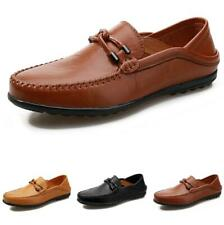 Men Pumps Slip on Loafers Flats Soft Breathable Casual Driving Moccasins Shoes D