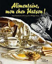 Alimentaire mon cher Watson de Martinetti, Anne | Livre | état bon