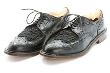 Robert Clergerie Chaussures 12 B en Corbeau Noir Bout Lacy Transparente Vampire