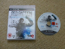 PLAYSTATION 3 PS3 GAME-fazione ROSSA Armageddon-PAL UK