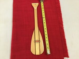 Rare 18'' Feather Brand Wooden Canoe Paddle Salesman Sample Or Store Display
