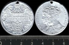 Great Britain: 1935 King George V & Queen Mary 25th Anniv of Reign  WM medal