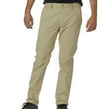 Vans Slicked Twill Casual Dress Pants Cotton Stretch Men's Size 34 Reg