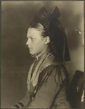 Ellis Island USA 1906 Alsace Lorraine Woman Immigrant 6x5 Inch Reprint Photo