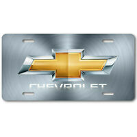 Digital HD Image of Chevy Chevrolet Bowtie on Aluminum Vanity License Plate Tag