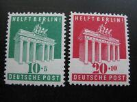 GERMANY Mi. #101-102 mint never hinged stamp set! CV $18.00