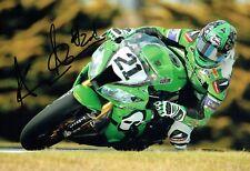 Allesandro ANDREOZZI SIGNED Autograph Italian Motorbike Racer Photo AFTAL COA