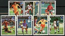 Guinea-Bissau 1988 SG#1021-7 Football Cto Used Set #A92747