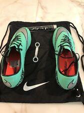 NEW Nike Hypervenom Phinish Mint Green SG soccer cleats Men's Size 10.5