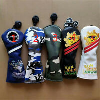 1x Multi Option Golf Hybrid Wood Club Cover Rescue Headcover UT Cover For Most