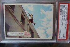 🎈🎈 BIONIC WOMAN PSA 9 Trading Card #3 Donruss 1976 Six Million Dollar Man tv