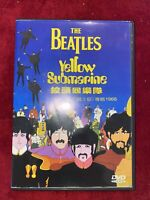 Ultra Rare The Beatles - Yellow Submarine DVD  Imported Unique