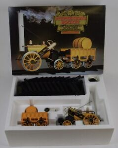 """Hornby real Gas fired live steam powered 3.5"""" gauge scale Stephensons Rocket"""