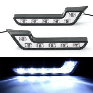 Universal Car SUV L Shaped 6 LED White 12V Driving Fog Light Lamp Waterproof
