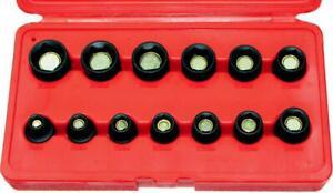13 Piece 3/8 Inch Drive Magnetic Metric Impact Socket Set 7-19mm
