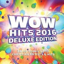 Wow Hits 2016 [Deluxe Edition] by Various Artists (CD, Sep-2015, 2 Discs, Wow Gospel Hits)
